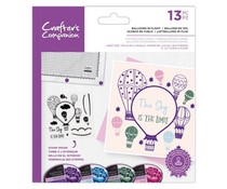 Crafter's Companion Balloons in Flight Clear Stamps (CC-STP-BINF)