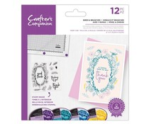 Crafter's Companion Birds & Branches Clear Stamps (CC-STP-BABR)