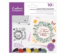 Crafter's Companion Ornate Butterflies Clear Stamps (CC-STP-ORBU)