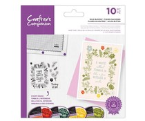 Crafter's Companion Wild Blooms Clear Stamps (CC-STP-WIBL)