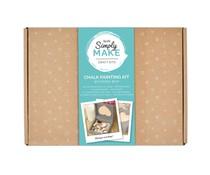 Simply Make Chalk Painting Kit Wooden Box (DSM 105108)