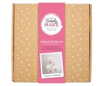 Simply Make Needle Felting Kit Weather Mobile (Pink) (DSM 106040)