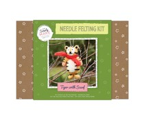 Simply Make Needle Felting Kit Tiger with Scarf (DSM 106056)