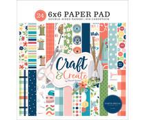 Carta Bella Craft & Create 6x6 Inch Paper Pad (CBCR137023)