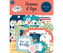 Carta Bella Craft & Create Frames & Tags (CBCR137025)