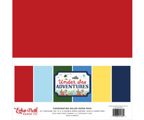 Echo Park Under Sea Adventures 12x12 Inch Coordinating Solids Paper Pack (USA245015)