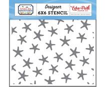 Echo Park Swimming Starfish Stencil (USA245034)