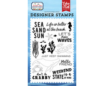 Echo Park Make Waves Clear Stamps (USA245040)