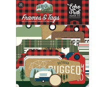 Echo Park Let's Go Camping Frames & Tags (LGC246025)
