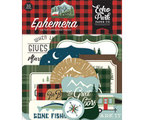Echo Park Let's Go Camping Ephemera (LGC246024)