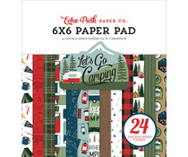 Echo Park Let's Go Camping 6x6 Inch Paper Pad (LGC246023)