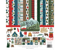 Echo Park Let's Go Camping 12x12 Inch Collection Kit (LGC246016)