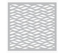 My Favorite Things Wavy Lines Stencil (ST-155)
