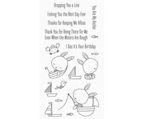My Favorite Things You Keep Me Afloat Clear Stamps (CS-576)