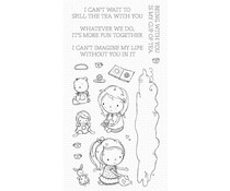 My Favorite Things Spill the Tea Clear Stamps (RAM-015)