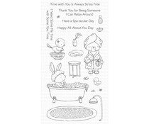 My Favorite Things Spa Day Clear Stamps (SY-34)