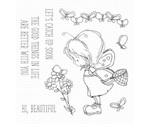 My Favorite Things Flutterby Friends Clear Stamps (TI-003)