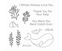 My Favorite Things Best Catch Ever Clear Stamps (CS-575)