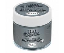 Aladine Izink Embossing Powder Pastel Grey (25ml) (10221)
