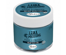 Aladine Izink Embossing Powder Sky Blue (25ml) (10223AL)