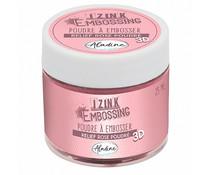 Aladine Izink Embossing Powder Powder Rose (25ml) (10219AL)