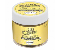 Aladine Izink Embossing Powder Pastel Yellow (25ml) (10217)
