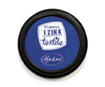Aladine Izink Textile Inkpad Bleu Fonce Indigo (80ml) (19014)