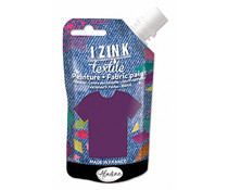 Aladine Izink Textile Violet Cachemire Fabric Paint (80ml) (80724)