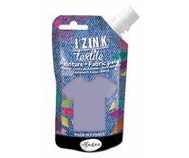 Aladine Izink Textile Gris Fonce Flanelle Fabric Paint (80ml) (80733)