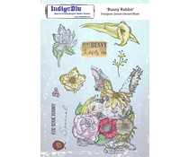 IndigoBlu Bunny Rabbit A5 Rubber Stamps (IND0800)