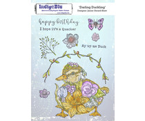 IndigoBlu Darling Duckling A5 Rubber Stamps (IND0802)