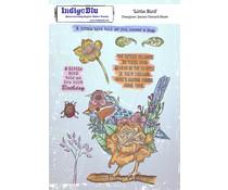 IndigoBlu Little BirdieA5 Rubber Stamps (IND0799)