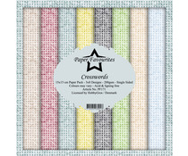 Paper Favourites Crosswords 6x6 Inch Paper Pack (PF171)