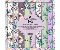 Paper Favourites Flowers and Cotton 6x6 Inch Paper Pack (PF169)