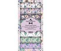 Paper Favourites Flowers and Cotton Slim Paper Pack (PFS015)
