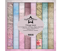 Paper Favourites Vintage Music 6x6 Inch Paper Pack (PF172)