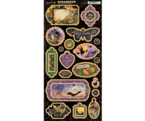 Graphic 45 Midnight Tales Chipboard (4502285)