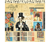 Graphic 45 Well Groomed 12x12 Inch Collection Pack (4502266)