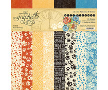 Graphic 45 Well Groomed 12x12 Inch Patterns & Solids Paper Pad (4502267)