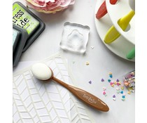 Time For Tea Beautiful Blender Brush Large Chocolate (T4T/738/Ble/Cho)