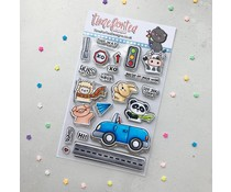 Time For Tea Car Critters Clear Stamps (T4T/657/Car/Cle)