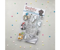 Time For Tea Paper Plane Pals Clear Stamps (T4T/655/Pap/Cle)
