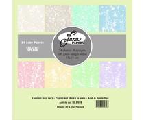 By Lene Creative Splash 6x6 Inch Paper Pack (BLP018)