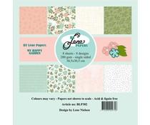 By Lene My Happy Garden 12x12 Inch Paper Pack (BLP302)