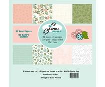 By Lene My Happy Garden 6x6 Inch Paper Pack (BLP017)