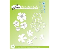 By Lene Flowers Cutting & Embossing Dies (BLD1371)