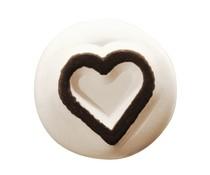 Ladot Heart Outline S Tattoo Stone (LAS029)