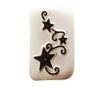 Ladot Tribal Stars M Tattoo Stone (LAM178)