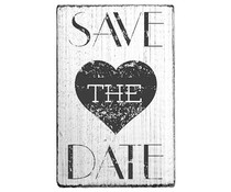 Colop Save the Date Heart Vintage Rubber Stamps (V01013)
