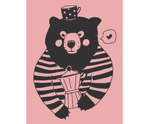 Colop Bear Rose M&B Rubber Stamps (MB0050)